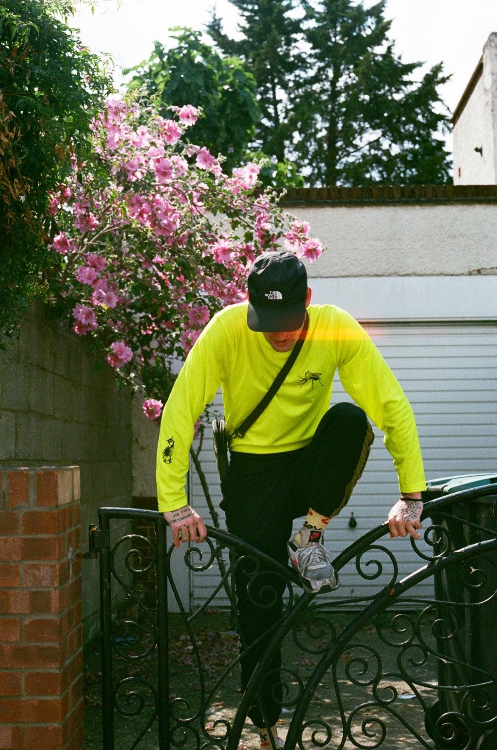 Image of neon WEB long sleeve (football knit)