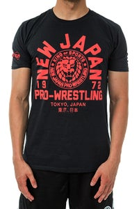 Image of NJPW x SPLX Collaboration Soft Style T-Shirt