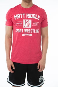 Image of Matt Riddle Sport Wrestling Soft Style T-Shirt