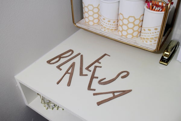 Image of Wooden Letter add ons