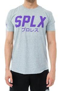 Image of SPLX Purple Logo Soft Style T-Shirt