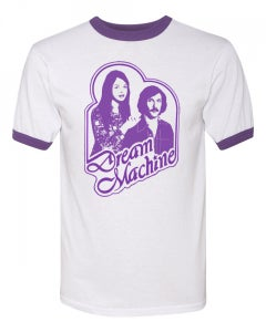 Image of DREAM MACHINE - PURPLE RINGER T