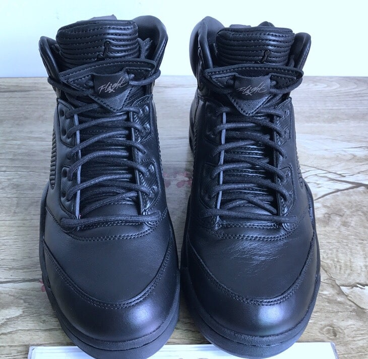 "Image of Air Jordan 5 ""Triple Black"""