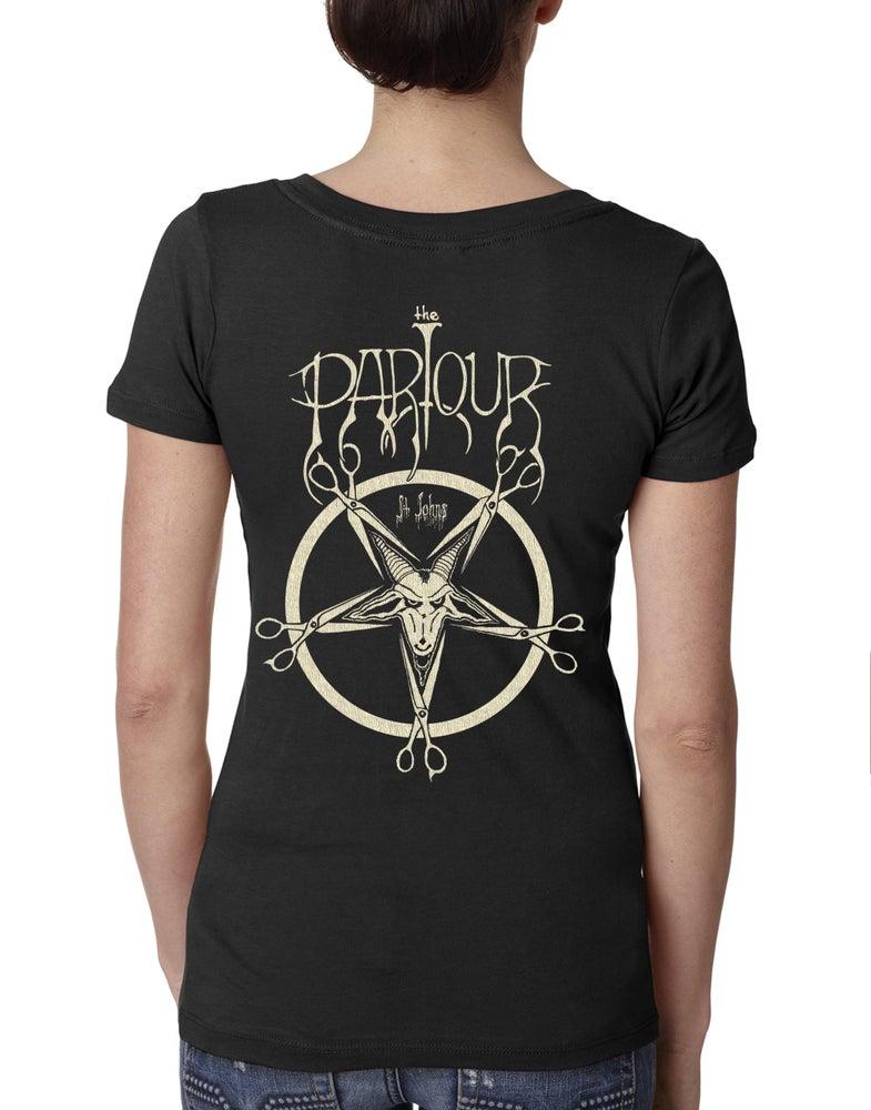 Image of Baphomet v-neck or crew shirt