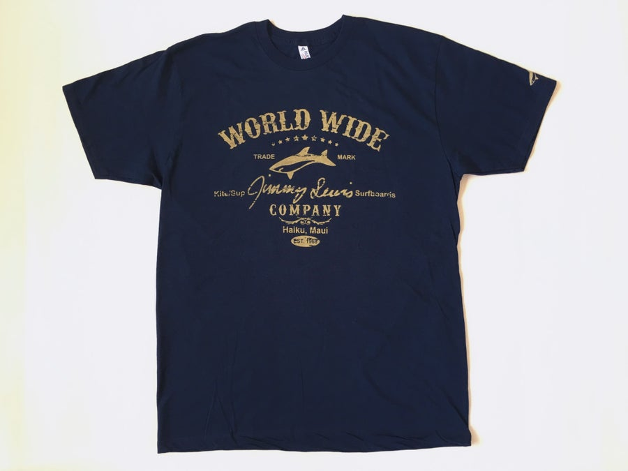 Image of Fitted Tee - Navy