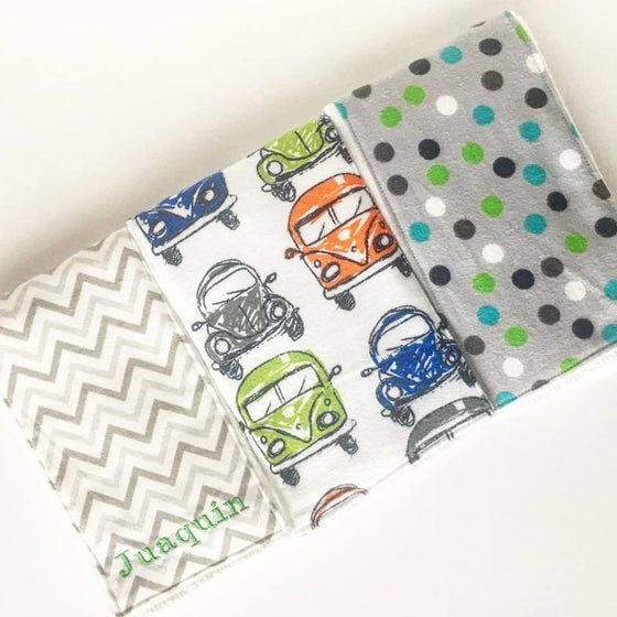 Image of Burp Cloth Set of 3