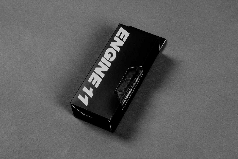 Image of NEW ENGINE11 Bartape - Black (embossed)