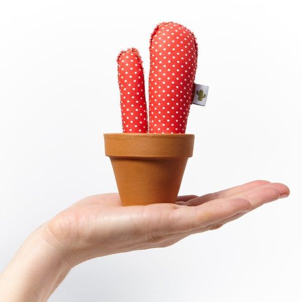 "Image of Cactus ""topitos rojo"" (Tamaño pequeño)"