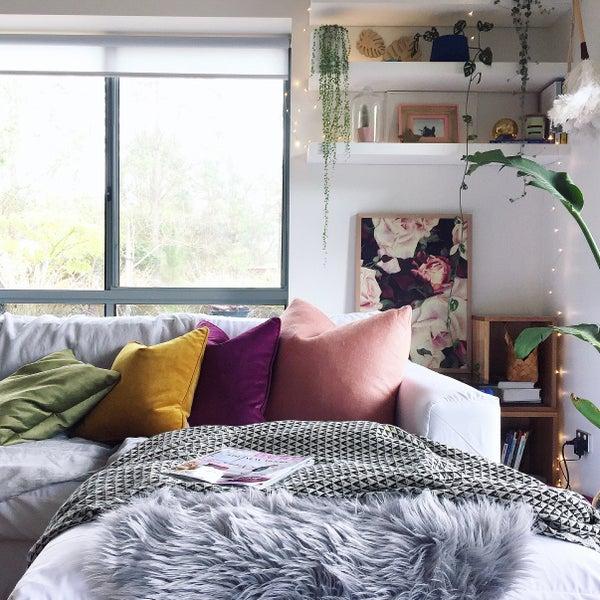 Image of Lavish Velvet Cushion (inc GST) 2016 Collection