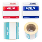Image of HELLO MY NAME IS - STICKER