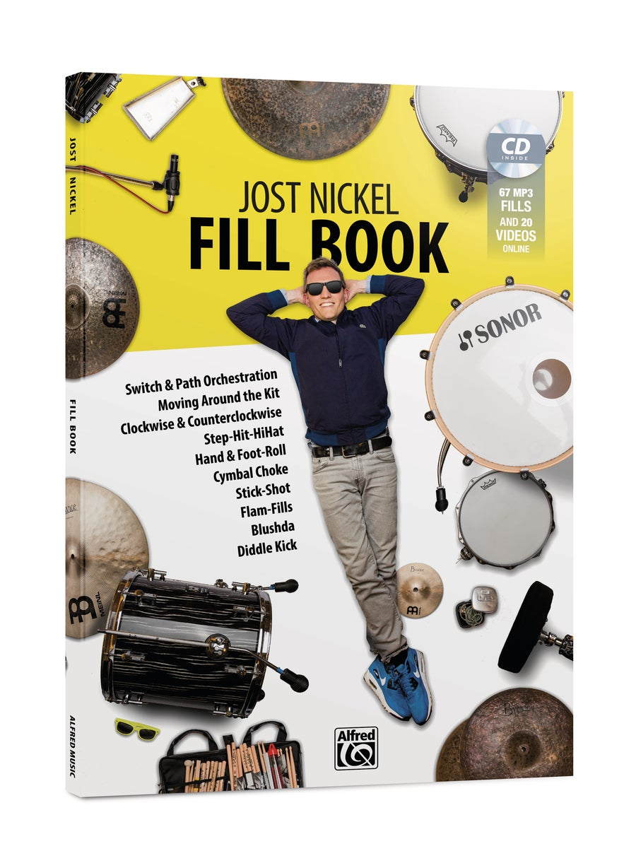 Image of Jost Nickel FILL BOOK - GERMAN (Signed Copy)