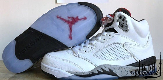 "Image of Air Jordan 5 ""White Cement"""