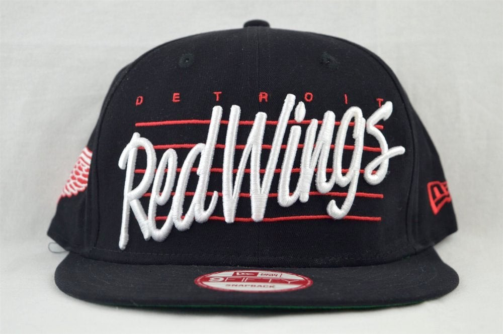 Image of Detroit Red Wings Script New Era 950 Snapback