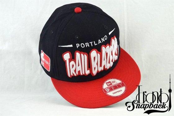 Image of Portland Trail Blazzers New Era 950 Snapback