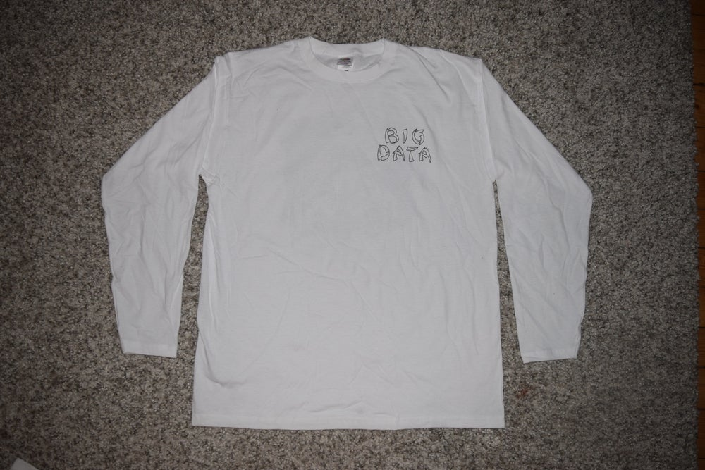 Image of LV loading BIG DATA LONGSLEEVE - WHITE