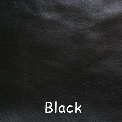 """Image of Black Leather Strap for Louis Vuitton (LV), Coach & More - .75"""" Wide - Fixed or Adjustable Lengths"""