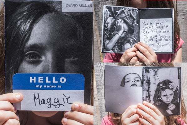 "Image of ""Hello My Name Is Maggie"" Zine"