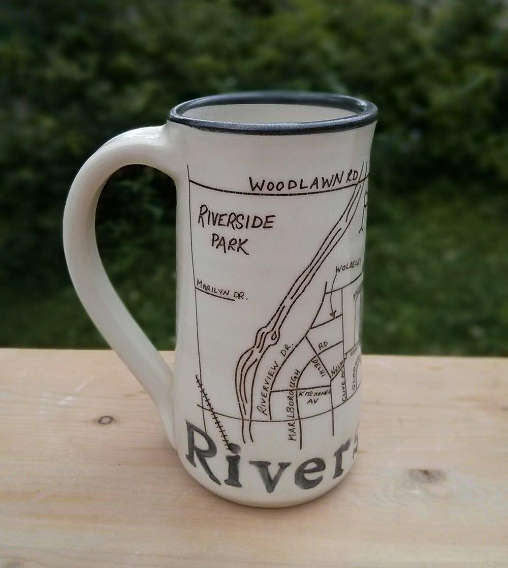Image of Guelph Inspired 'Riverside Park' mug by Bunny Safari