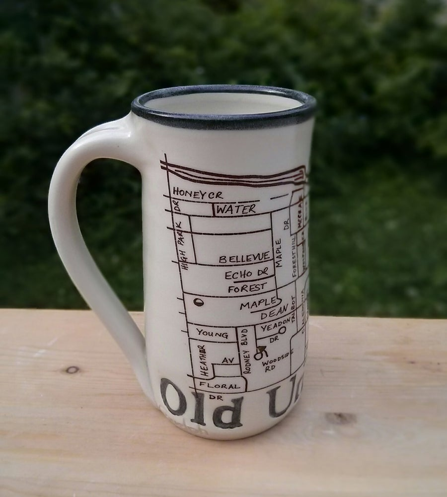 Image of Guelph Inspired 'Old University' mug by Bunny Safari
