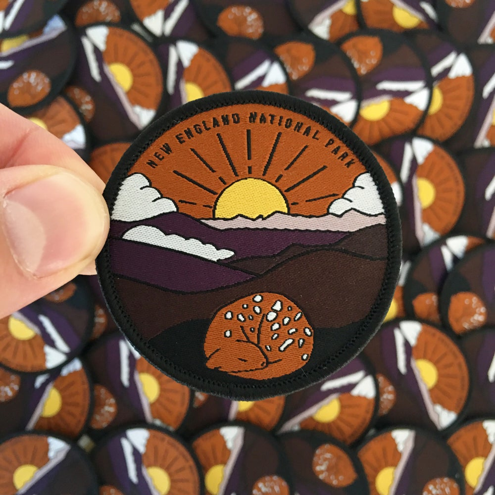 Image of New England National Park - Embroidered Patch