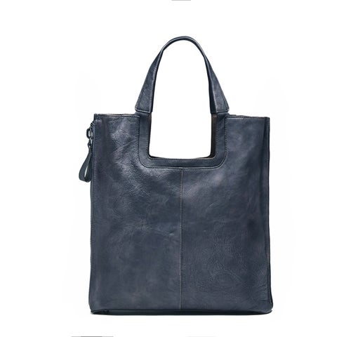 Image of Handmade Full Grain Leather Tote Bag, Women Handbag, Designer Handbag F66