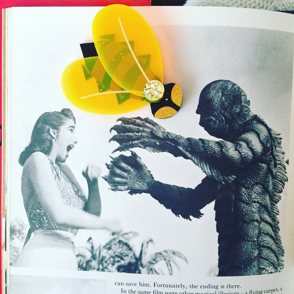 Image of Giant Mutant Bee Brooch