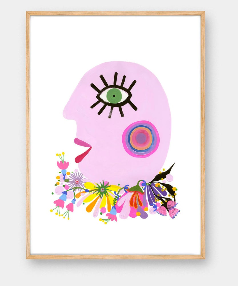 Image of SWEET CHEEKS (PINK) print