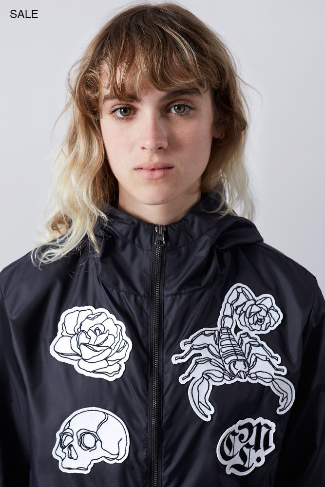 "Image of · No decisions windbreaker ·<p><span>€</span><span class=""dinero"">89.00</span></p>"