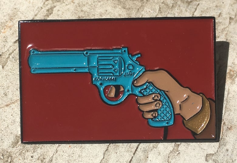 Image of LETHAL FORCE - ENAMEL PIN