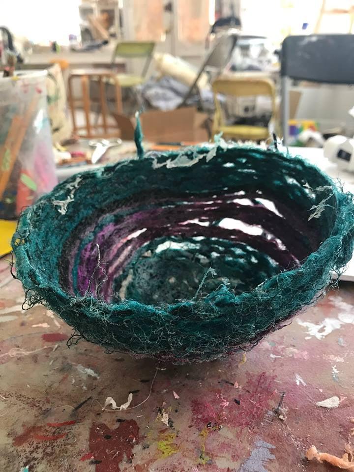 Image of Make a yarn bowl!