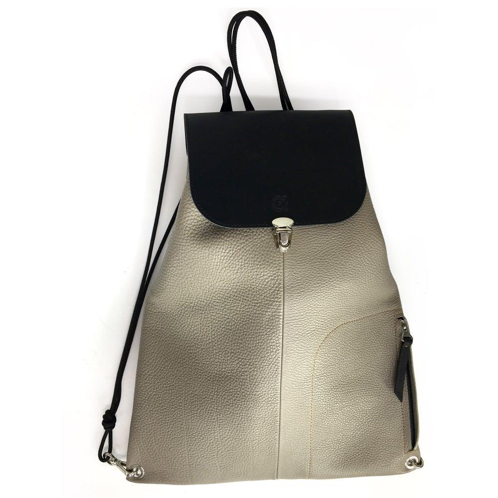 Image of LIBERTY | grey - black backpack | ~94€