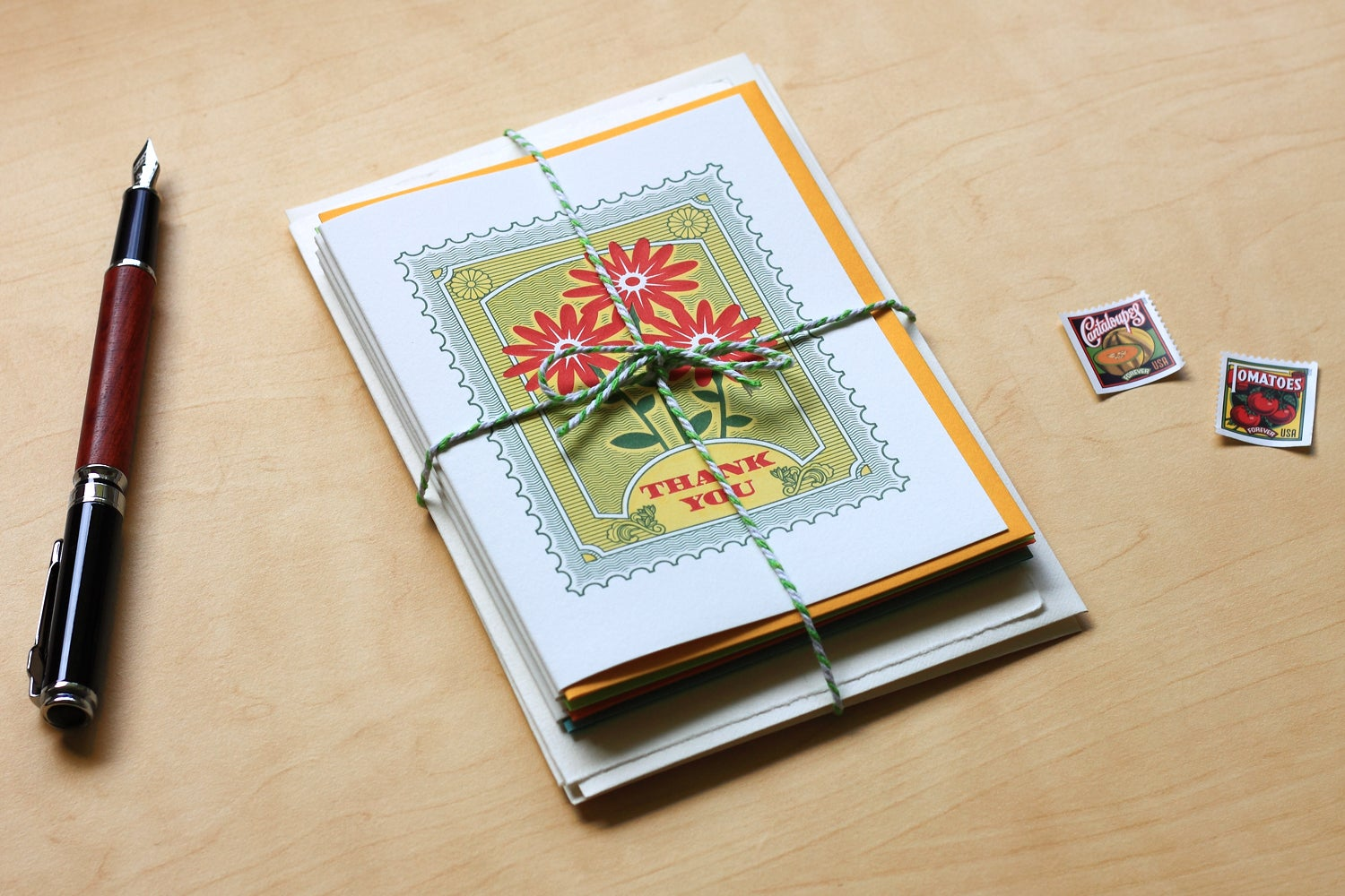Image of CHOOSE ANY 6 Letterpress Greeting Cards — $25
