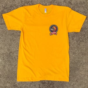 """Image of The """"Fear No Man - Bulldog"""" Tee in Gold"""