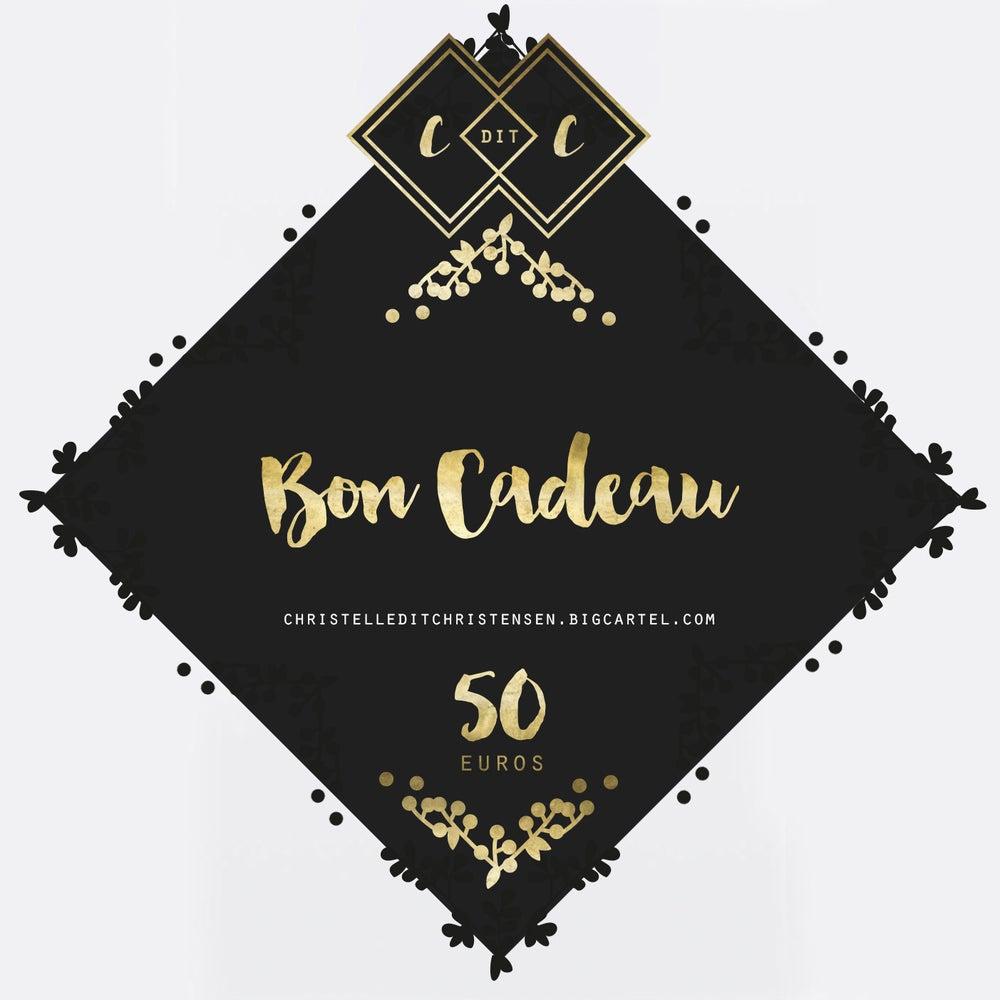 Image of Bon Cadeau 50 euros