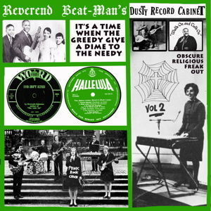 Image of LP : V.A. : Reverend Beat-Mans Dusty Record Cabinet Vol 2.