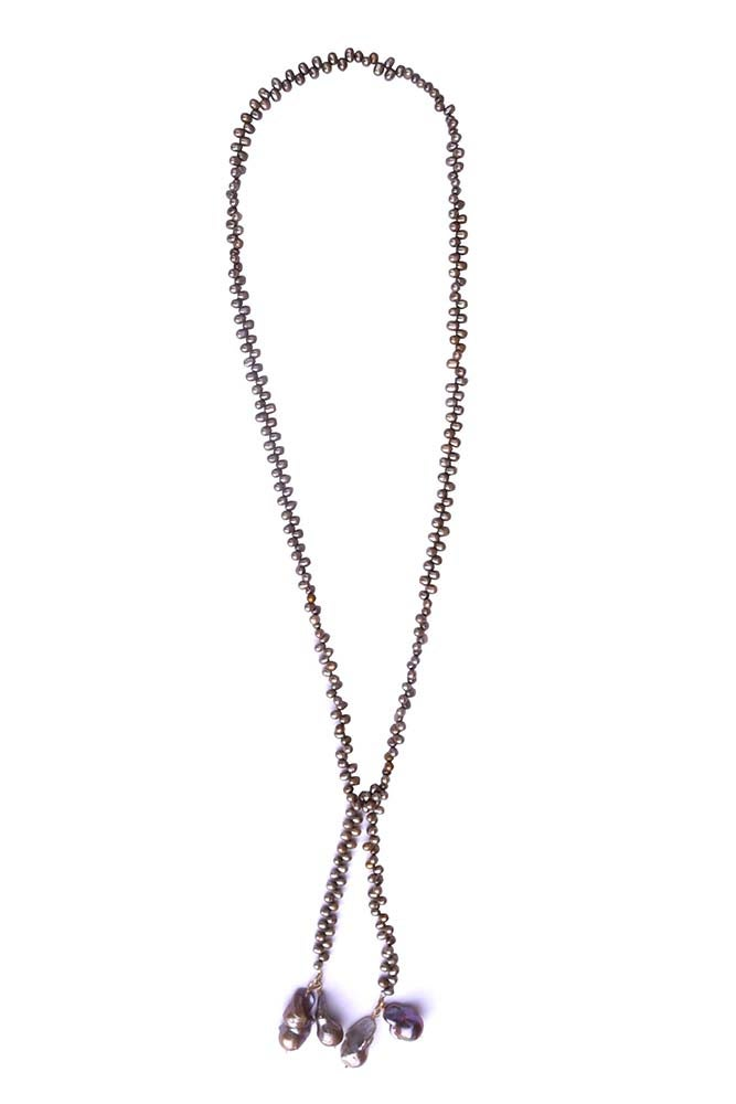 Image of Cocoa Pearl Lariat