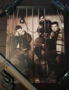 Image of Boyd Rice 'jailbreak' poster