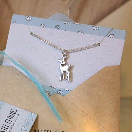 Image of ZOELLA INSPIRED FAWN NECKLACE