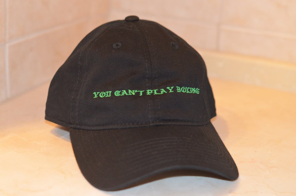 Image of You Can't Play Boxing Strapbacks