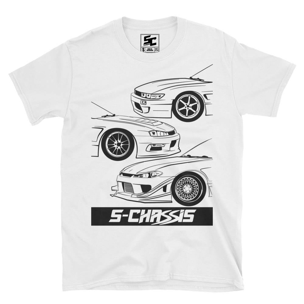 Image of Official S-Chassis Generations Logo Tee (White)