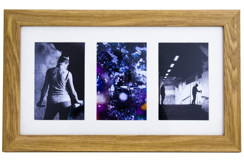 Image of 'Visions of Leake Street' Framed Photo Collection.