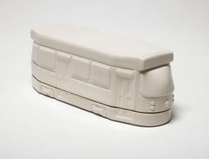 Image of Streetcar Butter Dish