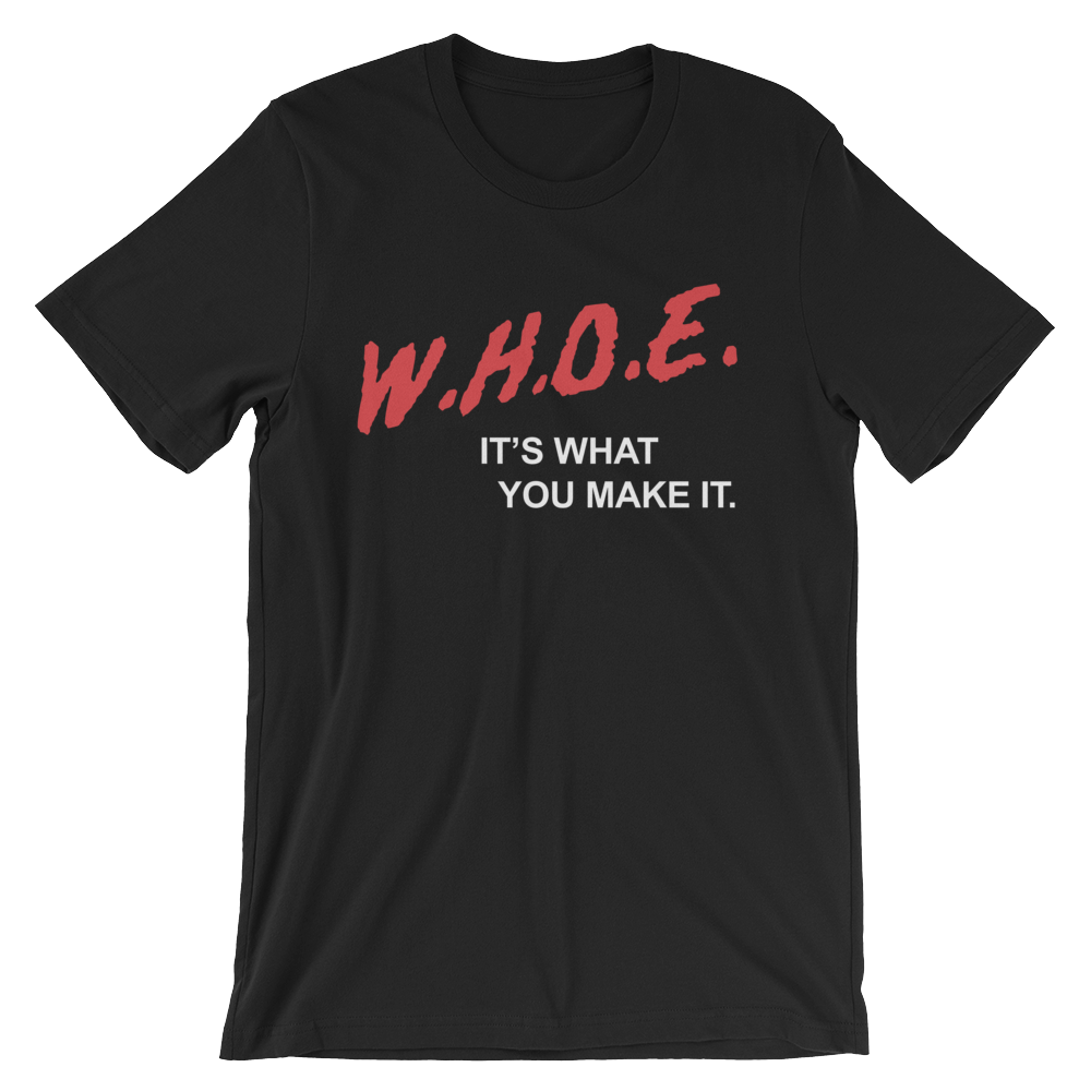 Image of DARE WHOE® Homecoming Black Shirt