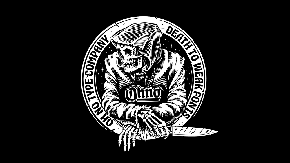 Image of Death to Weak Fonts Tee