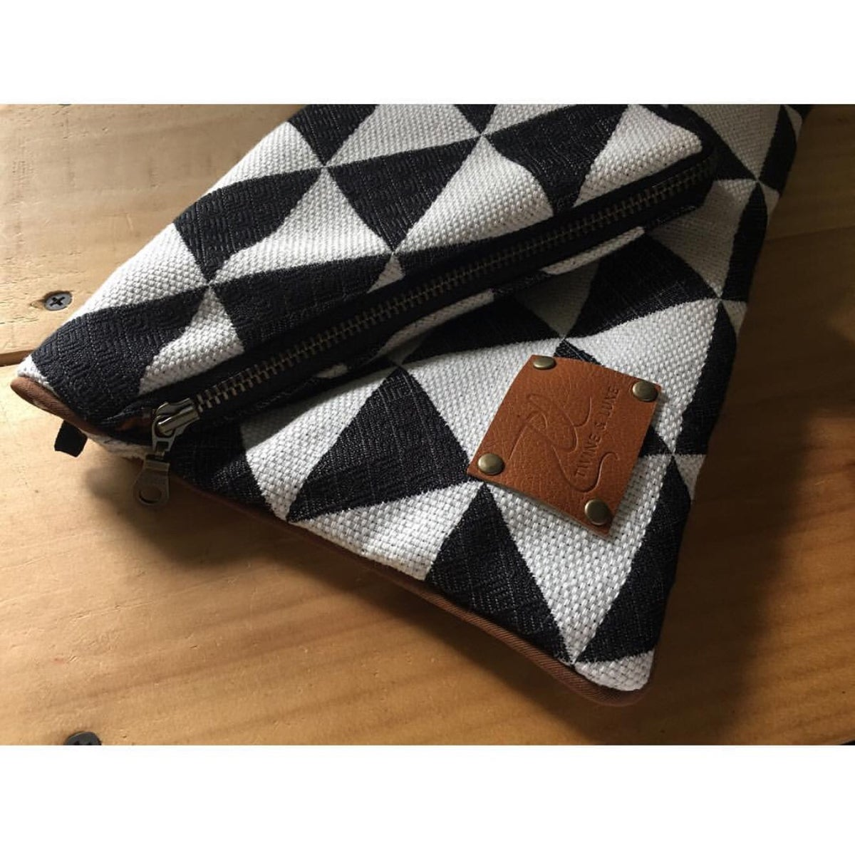 Image of Chenille Envelope Clutch