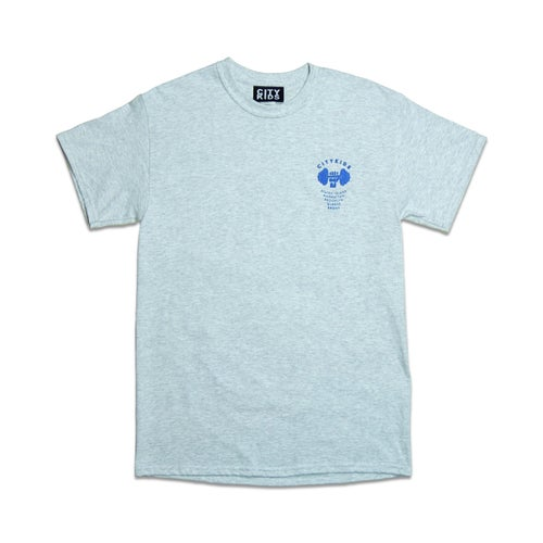 Image of Let's Build Tee - Ash Grey