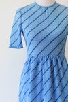Image of SOLD Blue Candy Cane Dress