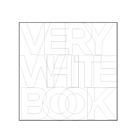 Image of VERY WHITE BOOK