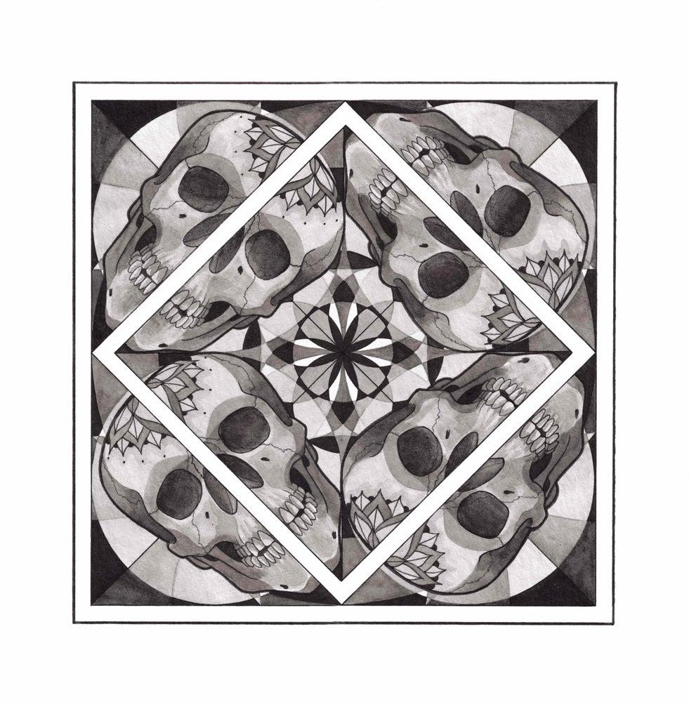 Image of Skull Mandala Series - Nr 2 - Momentum