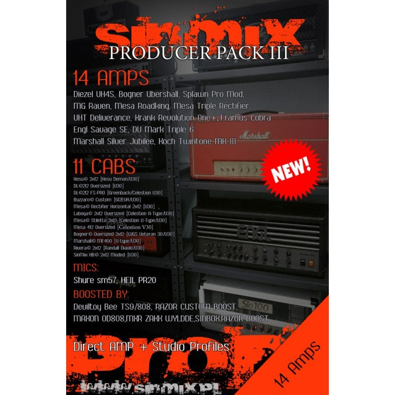 Image of SinMix Producer Pack III